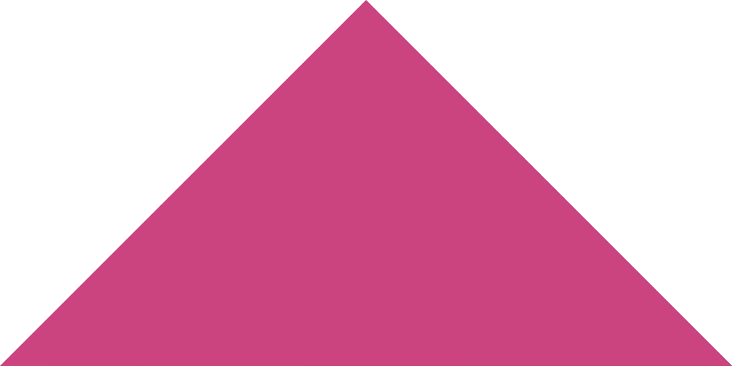 Hot Pink Small Triangle Wall Pattern - Set of 93 - Pattern Vinyl Wall Art Decal for Homes, Offices, Kids Rooms, Nurseries, Schools, High Schools, Colleges, Universities by Dana Decals (Image #1)