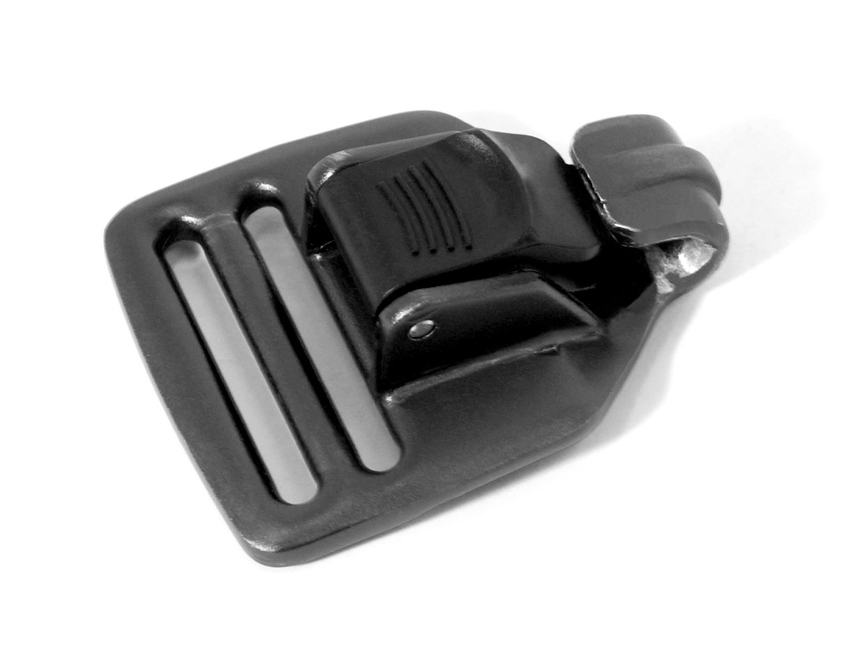 NP Surf Easy Release Replacement Buckle, Black, Standard