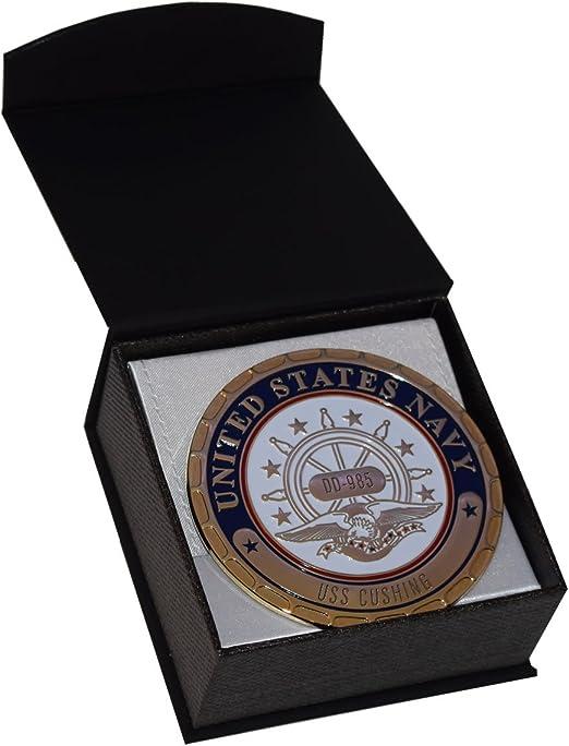 USS Cushing DD 985 Custom Personalized Print of US Navy Ships Gift