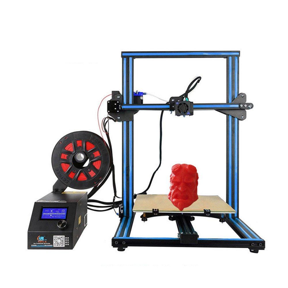Impresora 3d Creality CR-10 S4 Prusa i3 con tornillos a doble z ...