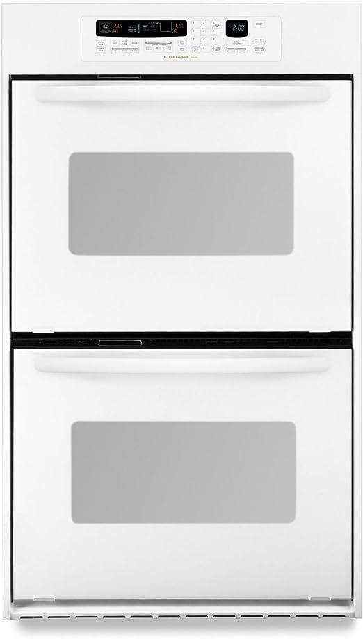 Amazon Com Kitchenaid Kebc247vwh 3 1 Cu Ft True Convection Upper Oven Architect Series Appliances