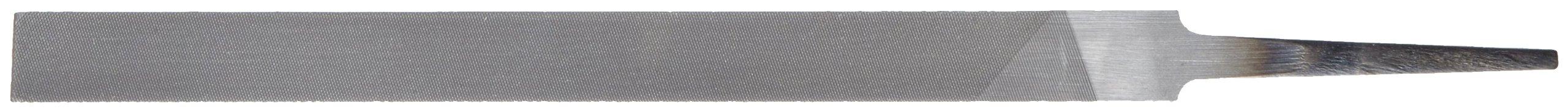 Nicholson Pillar File, Swiss Pattern, Double Cut, Rectangular, #1 Coarseness, 6'' Length