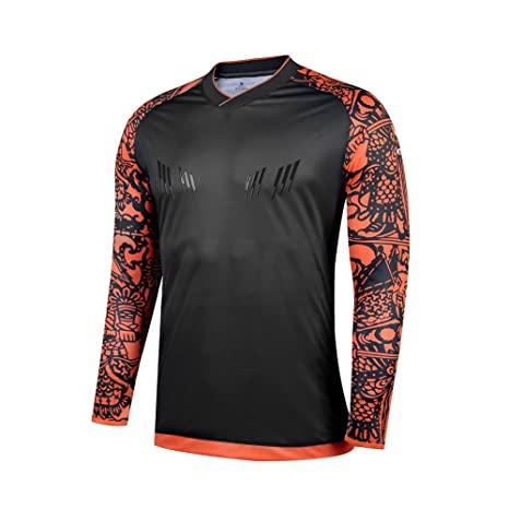 1ab841004c9 Kelme Goalkeeper Jersey 2016 Summer Sleeve Professional Training Shirt