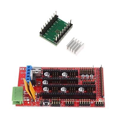 Controlador de Motor Pasos de Impresora 3D A4988 Disipadores de ...