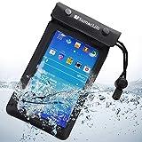 SumacLife Waterproof Pouch Case for Samsung Galaxy Mega 2 / BLU Studio 6.0 HD / BLU Life Pure XL Full HD / VIVO IV Full HD Super Amoled (Black)