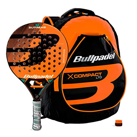 Bullpadel Pack Supreme Orange + X-Compact: Amazon.es: Deportes y ...