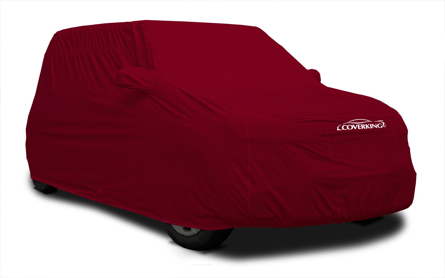 Coverking Custom Car Cover for Select Toyota Supra Models - Stormproof Solid (Red)
