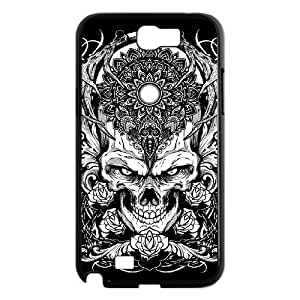 Fashion Element The Skeleton Skull DIY Cover Case with Hard Shell Protection for Samsung Galaxy Note 2 N7100 Case lxa864418