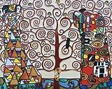 "The Tree of Life By Gustav Klimt - Decorative Ceramic Art Tile - 11""x14"" En Vogue"
