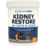 Cat and Dog Kidney Support, Natural Renal Supplements to Support Pets, Feline, Canine Healthy Kidney Function and Urinary Tra