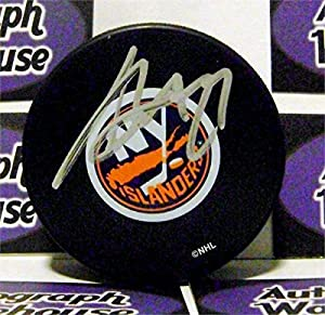 Autograph 212555 New York Islanders Hockey Sc Chris Osgood Autographed Puck