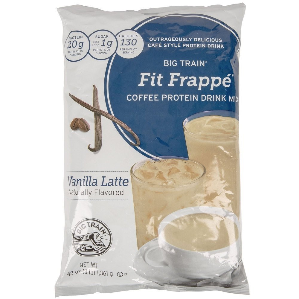 Big Train Vanilla Latte Fit Frappe 3lb Single Bag by Big Train