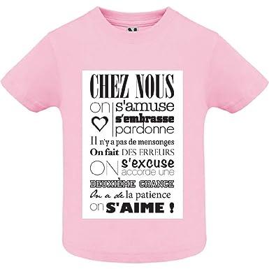 bd35cca95922c access-mobile-ile-de-re.fr T-Shirt - Manche Courte - Col Rond ...