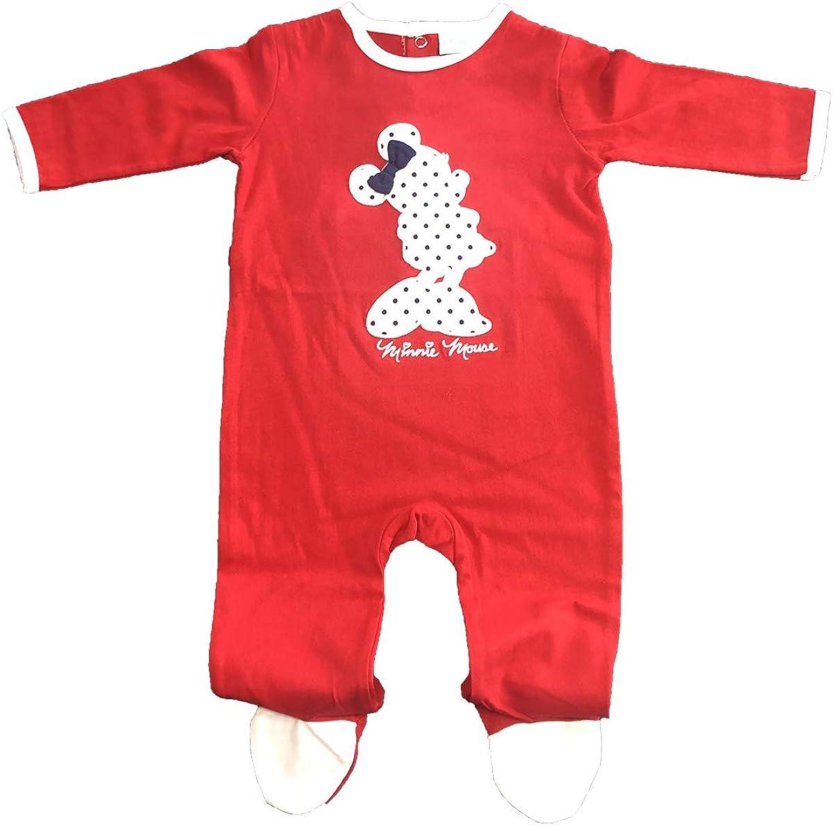 Mouse 6//12//18//24 mesi Minnie Disney pigiama da bambina