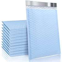 TOMVYTER 6x10 Poly Bubble Mailers #0 Padded Envelopes, 25pcs Self Seal Mailing Envelopes Bubble Padded Mailers(Light…