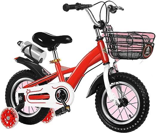 YUMEIGE Bicicletas Bicicleta Girl Hope con ruedas de entrenamiento ...