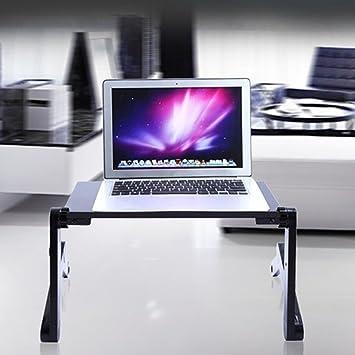 Steellwingsf - Soporte de Mesa para Ordenador portátil, Ajustable, para sofá, Cama, Ordenador portátil, Escritorio: Amazon.es: Informática