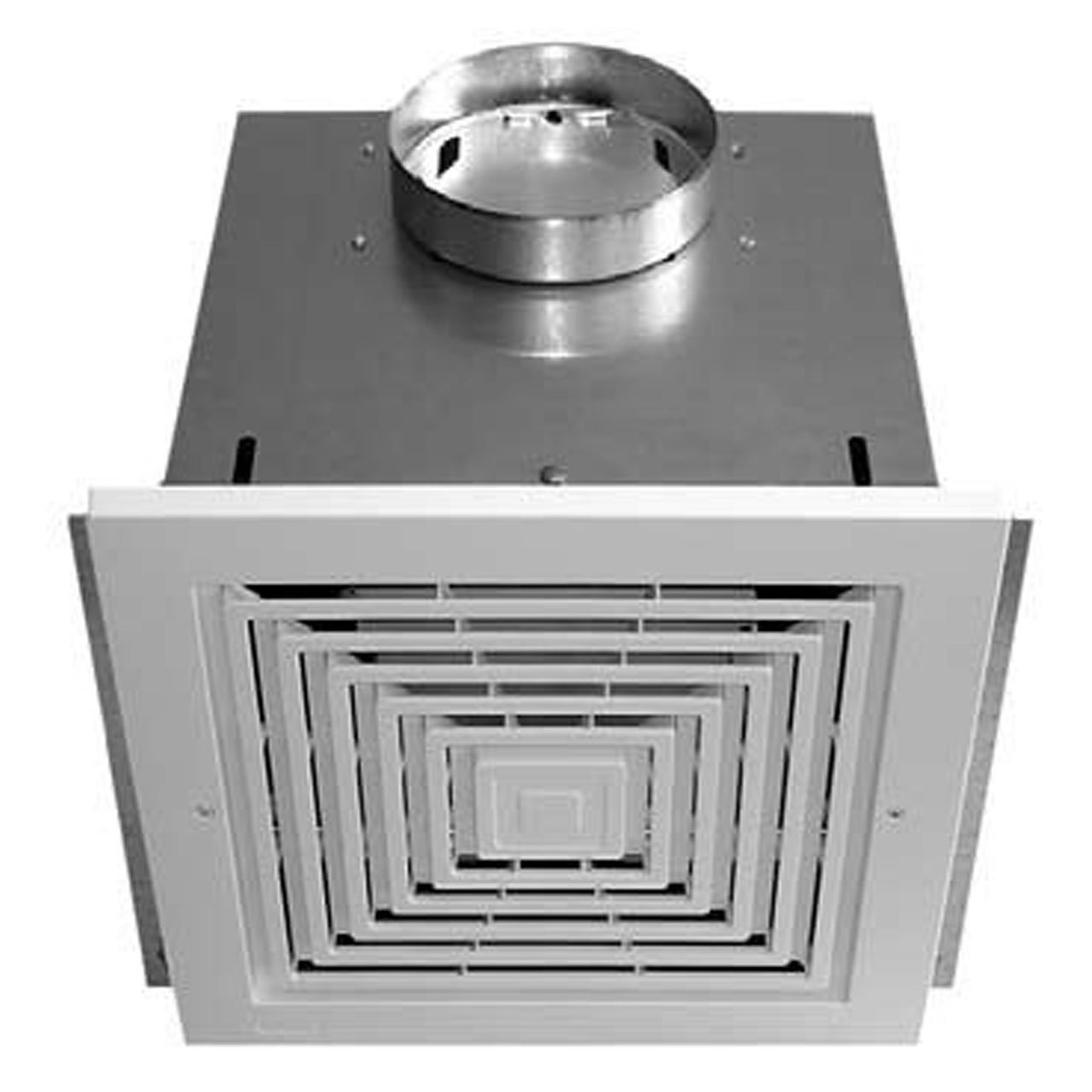 Soler and Palau FF900 Off White Grill Utility Fans 900CFM Ceiling and Inline Ventilator, Small