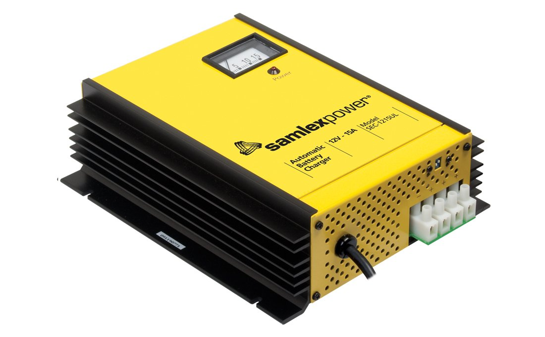 Samlex America SEC1215UL 15 Amp Battery Charger