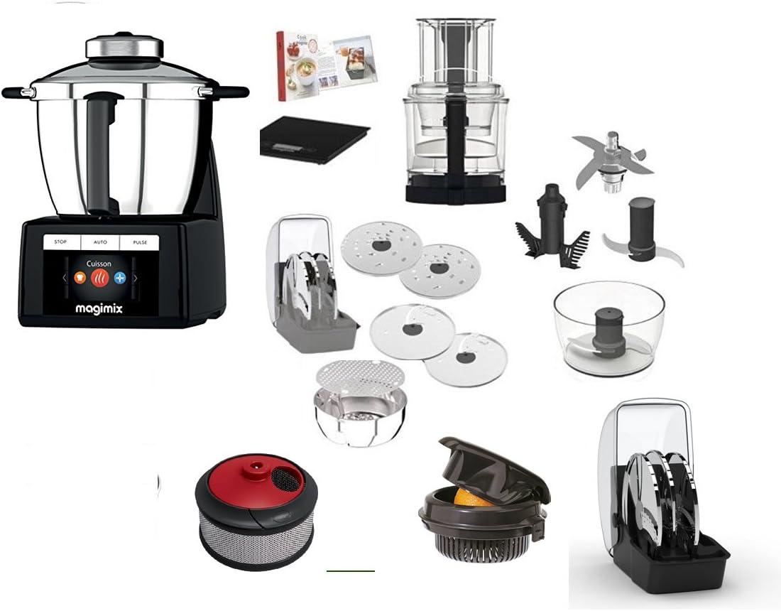 Magimix Cook Expert cromo con accesorios (spremiagrumi- centrifuga- Cocina creativa): Amazon.es: Hogar