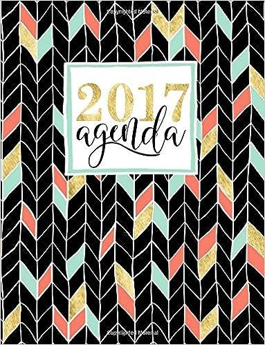 Agenda: 2017 Agenda Semana Vista (Serie Moderna): Amazon.es ...
