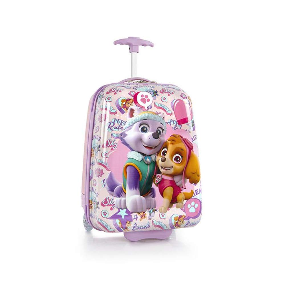 Nickelodeon Hardside Multicolored Luggage for Kids - 18 Inch [PAW Patrol] by Nickelodeon