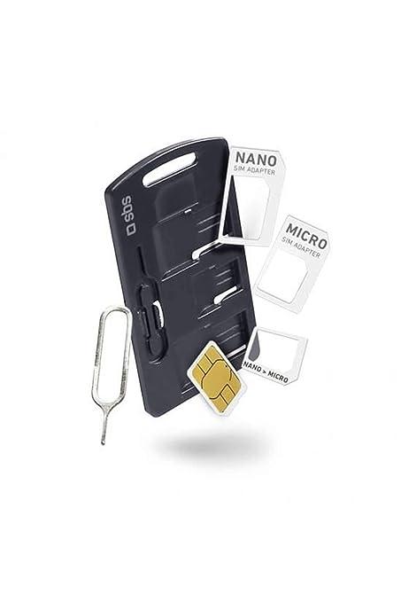 SBS - Kit Adaptador de Tarjetas sim para Smartphone: Amazon.es ...