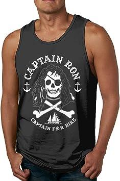 Vintage Captain Ron Captain Camiseta de Tirantes sin Mangas ...