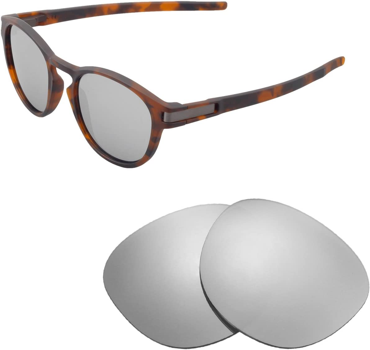 Walleva Replacement Lenses for Oakley Latch Sunglasses - Multiple Options Available