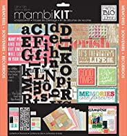me & my BIG ideas SRK-140 Inspiration Quotes Mambi Scrapbook Kit, 12 by 12-