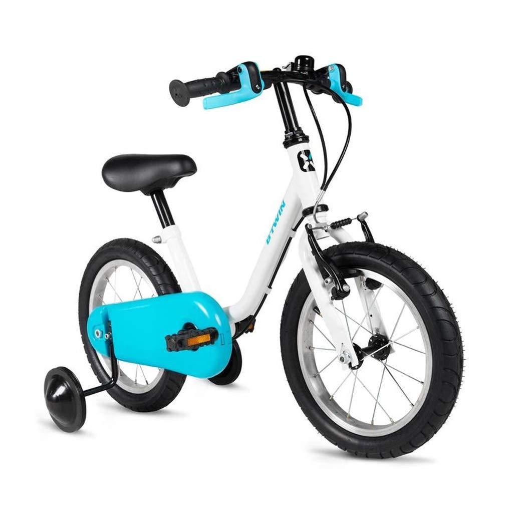 14インチ子供の自転車3-4-5歳の男の子の女の子子供のトレーニングホイール付き自転車   B07QXYLS8V