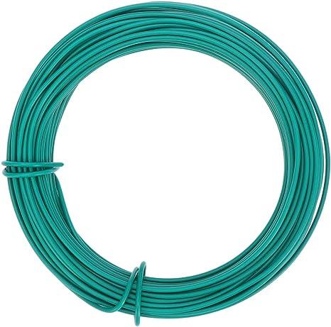 Yardwe jardín twist tie bonsai cable de alambre de entrenamiento diy planta de jardinería (verde): Amazon.es: Grandes electrodomésticos
