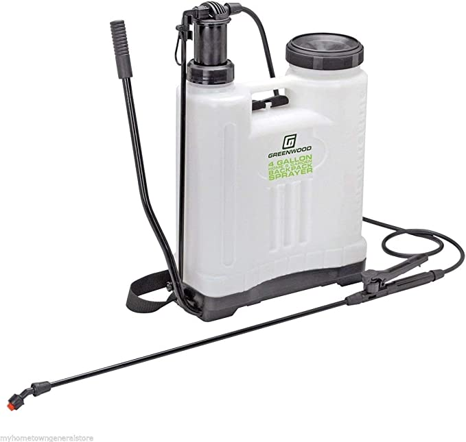 Greenwood 4 Gallon Backpack Sprayer - Best for Durability