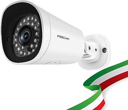 Opinión sobre Foscam G2EP - Cámara Exterior de 2 megapíxeles Full HD 1080P con Infrarrojos hasta 20 Metros