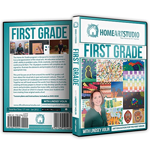 Home School Art Studio Program DVD with Lindsey Volin 1st