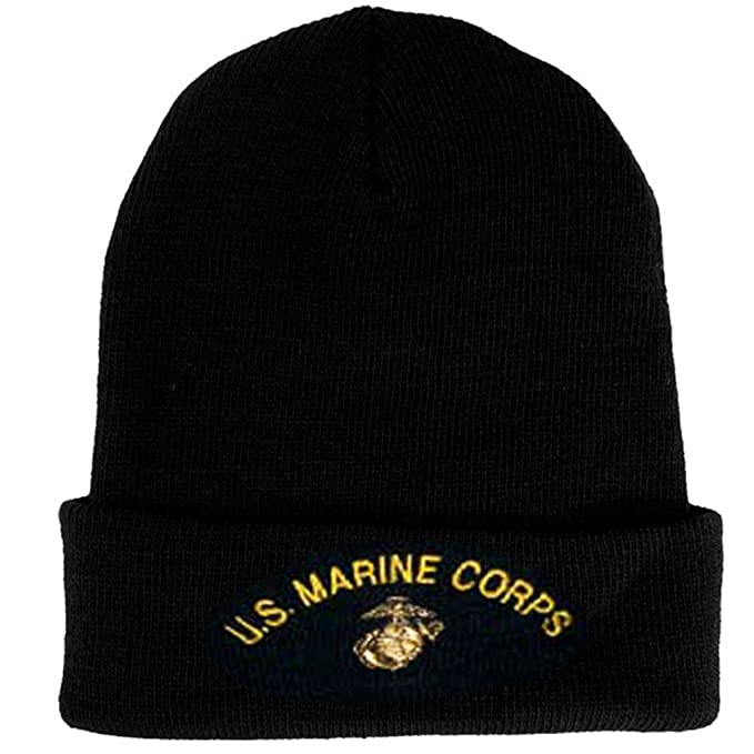 US Marine Corps Knit Cap United States Marine Corps Military Hats Men and  Women
