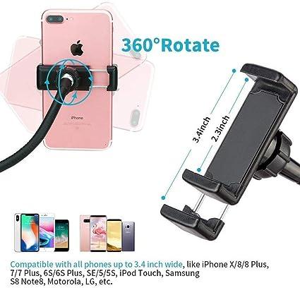 KAYLEY Selfie Anillo de luz para cámara, Recargable Selfie 36 LED ...