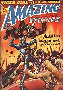 Amazing Stories April 1942 Magazine ebook product image
