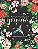 2019 Adult Coloring Book Planner