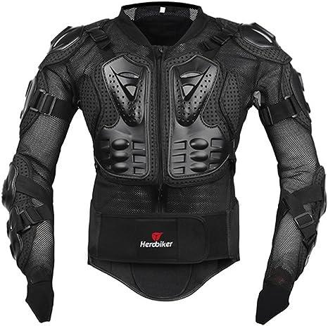 Amazon.com: Chaqueta para motociclista estilo armadura ...