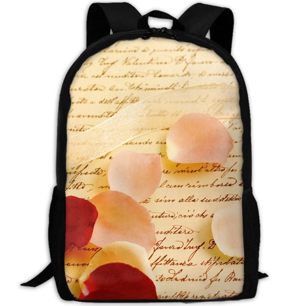 ZQBAAD Love Letter Luxury Print Men And Women's Travel Knapsack by ZQBAAD (Image #1)