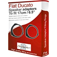 Connects2 Fiat Ducato adaptadores de Altavoces Frontal Puerta