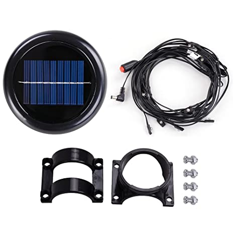 Image Unavailable - Amazon.com : Yescom 40 LED Solar String Light For 9 Ft 8 Rib Outdoor