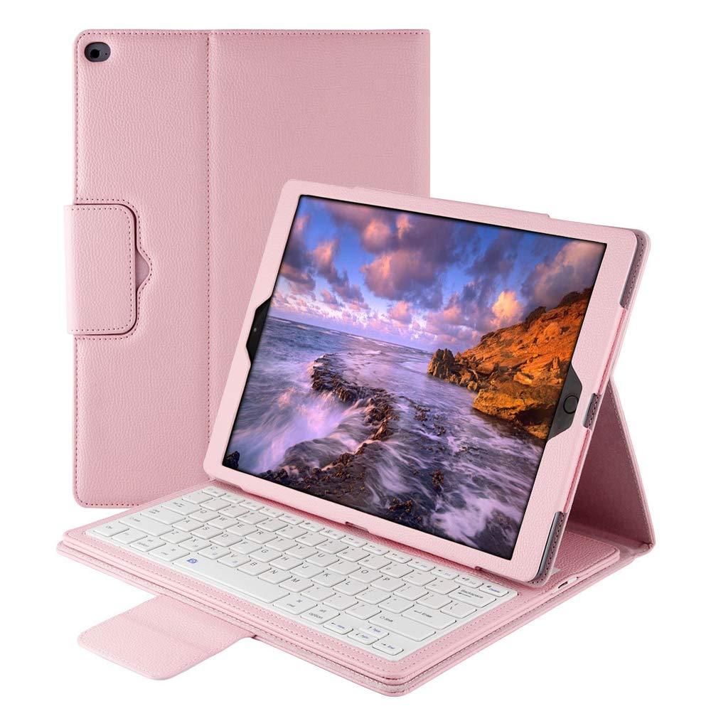 定番  スマートキーボードケース iPad Pro 12.9用 調節可能なスタンド付き 12.9インチ B07KZTSJFD レザー磁気 取り外し可能なワイヤレスBluetoothキーボードカバー Apple iPad 第1世代 Pro 12.9インチ 第1世代 2015 2017に対応 ピンク B07KZTSJFD, used select shop Greed:3868981f --- a0267596.xsph.ru