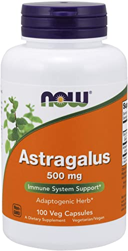 NOW Supplements, Astragalus huang qi 500 mg, 100 Capsules