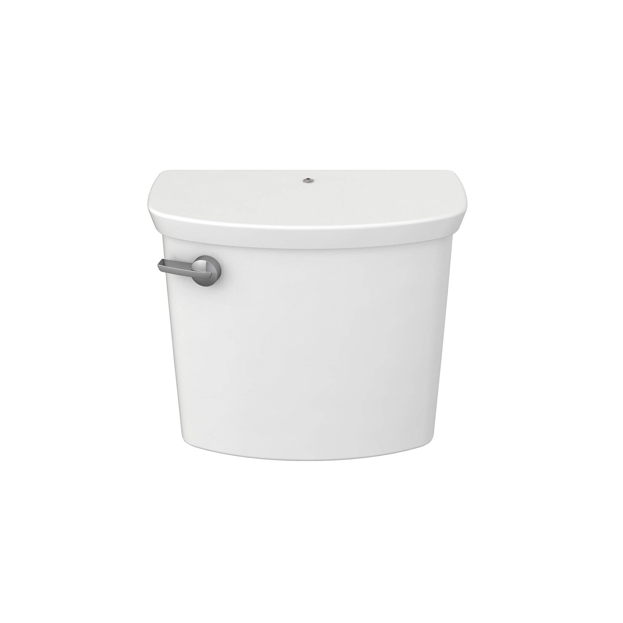 American Standard 4385A167.020 Glenwall VorMax Toilet Left-Hand Trip Lever with Tank Cover Locking Device, White