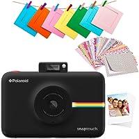 Polaroid Pol-STBAMZ, Touch 2.0-13MP, cámara instantánea Digital táctil de 3,5 Pulgadas LCD de 3,5 Pulgadas, Color Negro