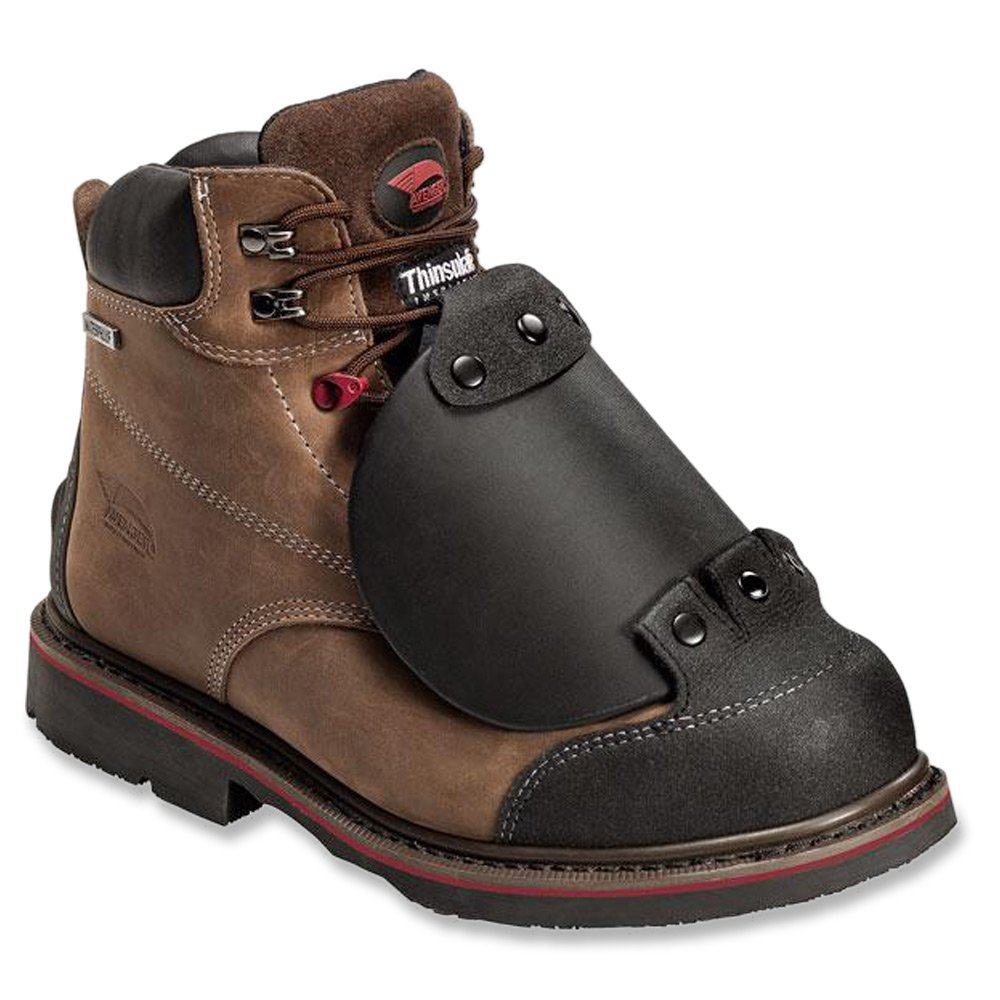 Avenger Safety Footwearメンズ7338 Insulated Met Guard Shoe B00JXFRXCQ 13 D(M) US|ブラウン ブラウン 13 D(M) US