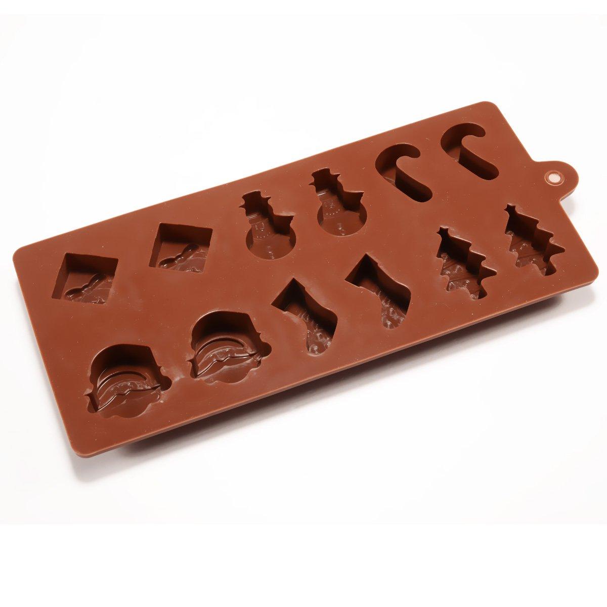 marron Ice//g/âteau//chocolat//sucre pour d/écoration en silicone Mini Fondant Moule en silicone Chocolat Praline Moule