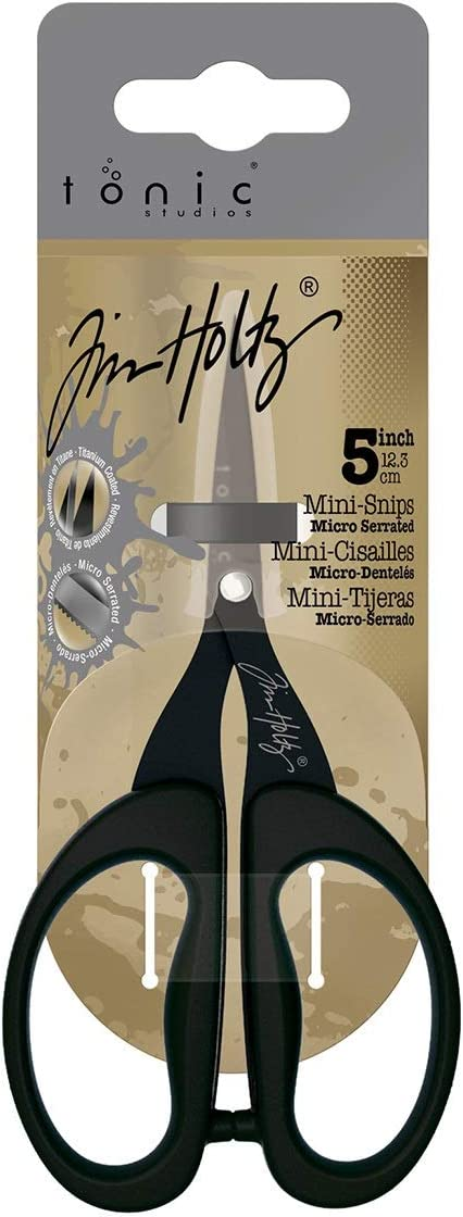 Tonic Studios Tim Holtz 5in Titanium Mini Snips